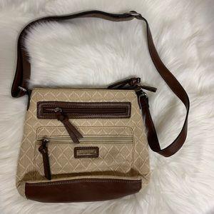 Etienne Aigner woven handbag